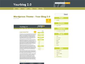 YourBlog web2.0